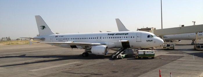 Baghdad International Airport (BGW) is one of สนามบินนานาชาติ (1).
