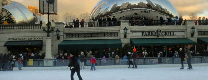 McCormick Tribune Ice Rink is one of Guide to Chicago's best spots.
