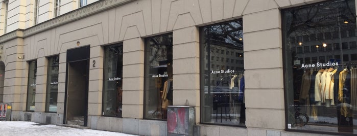 Acne Studios is one of Stockholm.