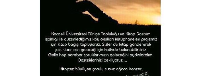Kocaeli Kültür Okulları is one of Hasan : понравившиеся места.