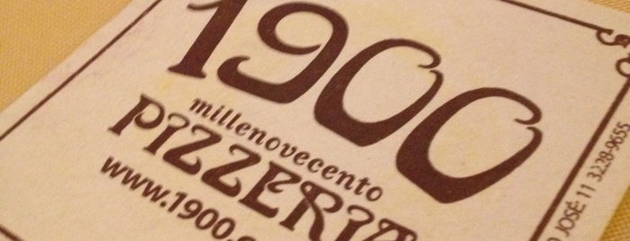 1900 Pizzeria is one of SP | Restaurantes.