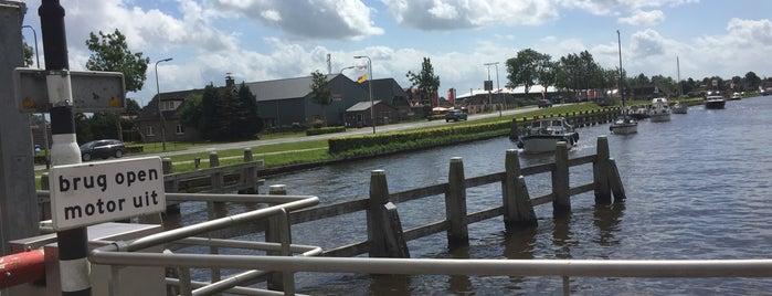 Brug Giethoorn-Zuid is one of Giethoorn.
