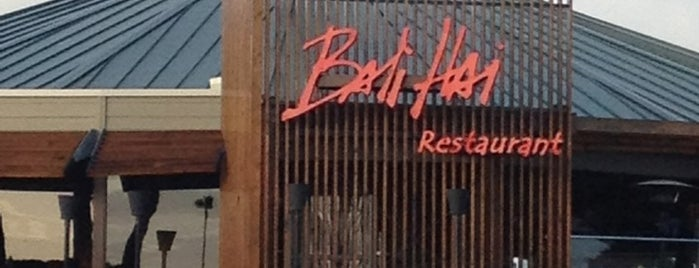 Bali Hai Restaurant is one of Good Places in SD.
