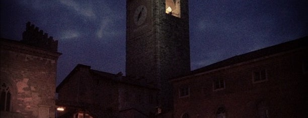 Piazza Vecchia is one of Bergamo.