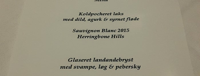 Pasfall is one of White Guide Nordic 2015: Very High Class.