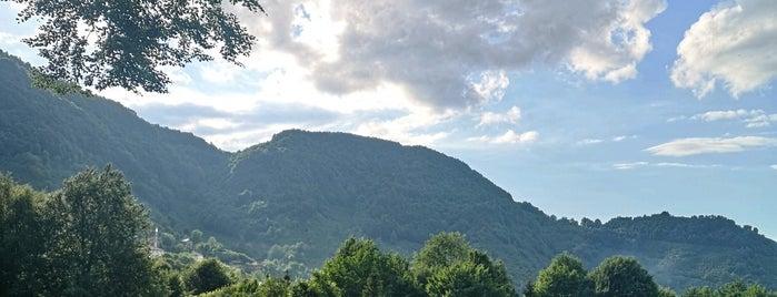 Güzeldere Şelalesi Tabiat Parkı is one of BoluDüzceAnkara.