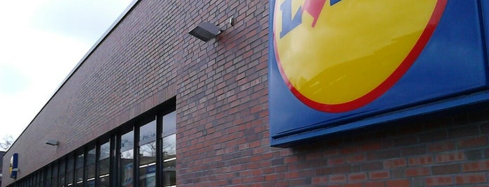 Lidl is one of Containern in Düsseldorf.