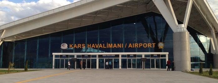 DHMİ Kars Havalimanı İç Hatlar Gidiş Terminali is one of Lugares favoritos de Ekin.