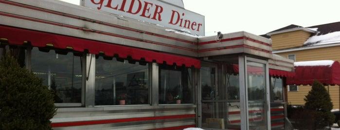 Glider Diner is one of Locais curtidos por Martha.