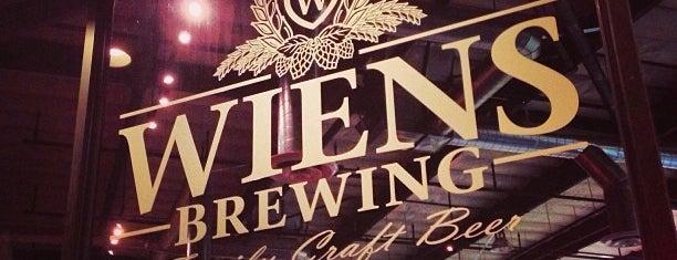 Wiens Brewing is one of San Diego.