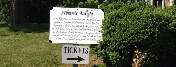 Abram's Delight is one of Virginia Jaunts.