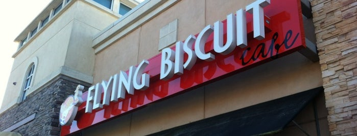 The Flying Biscuit Cafe is one of Roswell, GA.