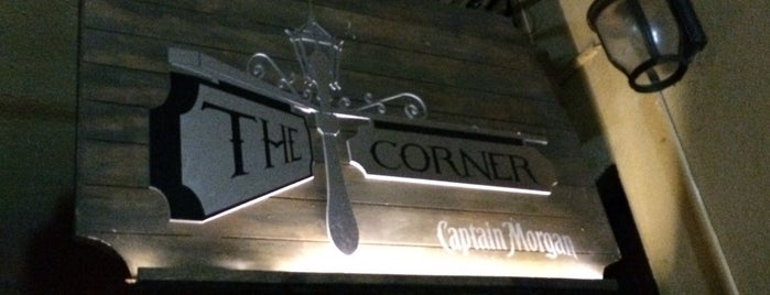 The Corner is one of @cervezaindio recomienda.