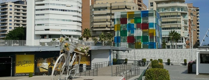 Centre Pompidou Málaga is one of Stevenson's Favorite Art Museums.