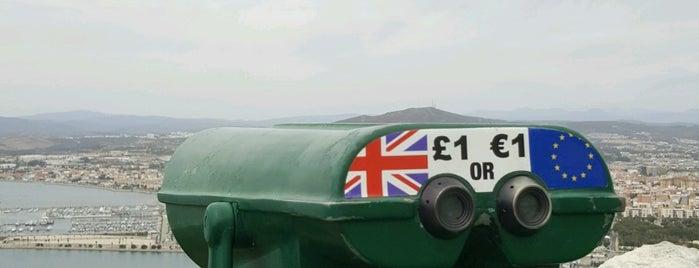 Princess Caroline's Battery is one of Gibraltar.