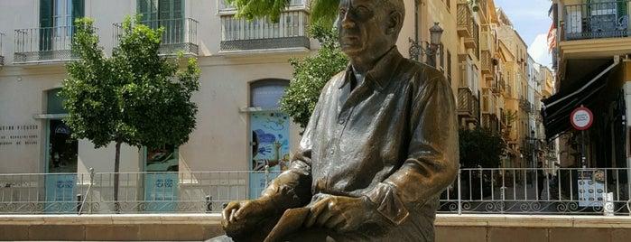 Estatua de Picasso is one of Mediterraneo 2018.