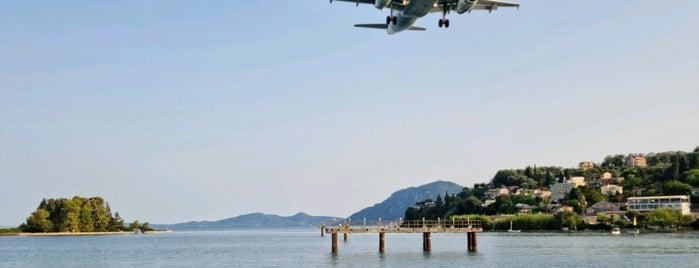 Kerkyra Airport Spotter Pier is one of Corfu, Greece.