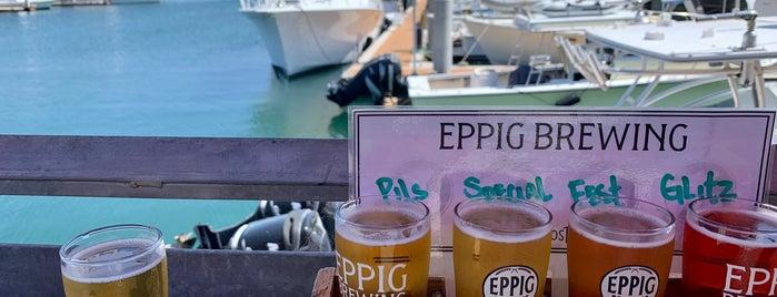 Eppig Brewing Waterfront Biergarten is one of CA-San Diego Breweries.