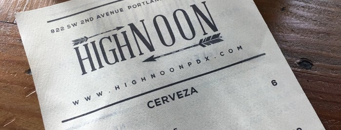 High Noon is one of Portlandia.