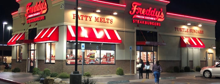 Freddy's Frozen Custard & Steakburgers is one of Las vegas.