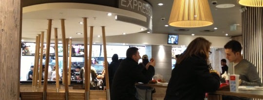 McDonald's is one of Barry : понравившиеся места.