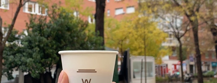 Waycup is one of Third wave/specialty coffee in Madrid.