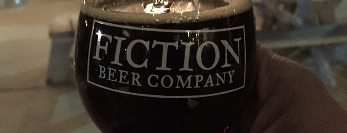 Fiction Beer Company is one of Lugares favoritos de Ryan.