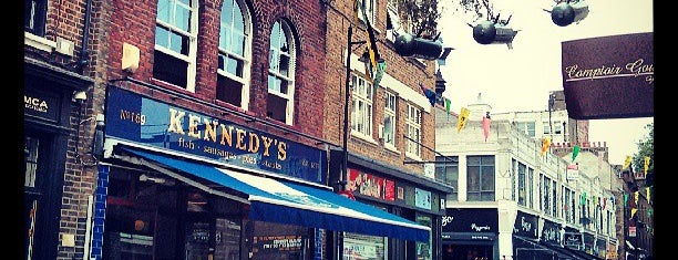 Kennedy's is one of London.