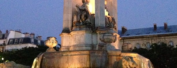 Place Saint-Sulpice is one of PARIS - places.