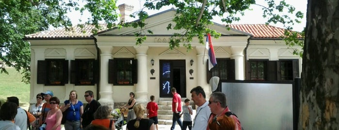 Galerija Prirodnjačkog muzeja is one of Belgrade museums & art galleries.
