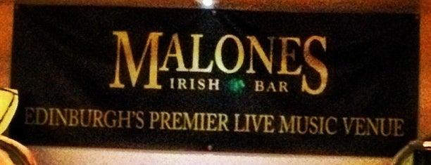 McSorley's Irish Bar is one of Edinburgh.