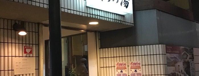 中延温泉 松の湯 is one of สถานที่ที่ 高井 ถูกใจ.