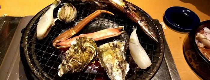 漁師と農家産直居酒屋 海桜 is one of Lugares favoritos de Shigeo.