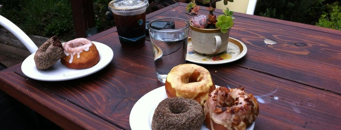 Dynamo Donut & Coffee is one of 25 Top Coffee Shops in SF.