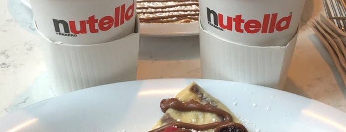 Nutella Cafe is one of Chicago Eats.