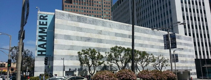 Hammer Museum is one of West Coast Sites.