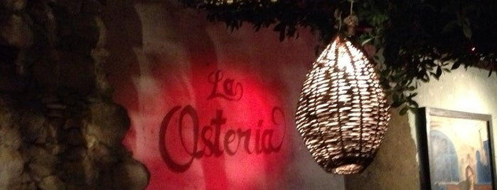 La Osteria is one of Lugares favoritos de Alan.