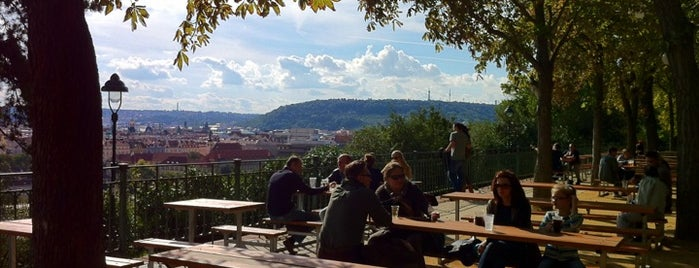 Letná Beer Garden is one of Prague7.
