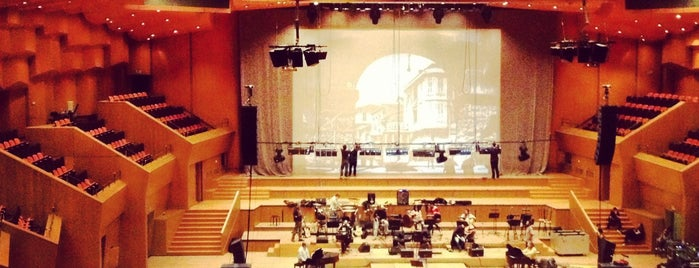 Megaron - Athens Concert Hall is one of Orte, die Vangelis gefallen.