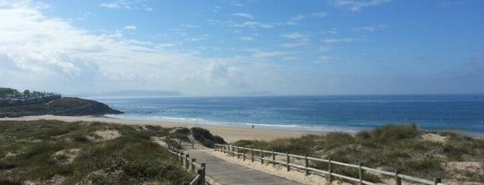 Praia Montalvo is one of Sanxenxo.