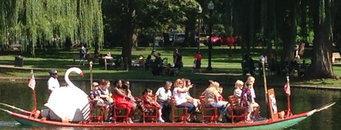 The Swan Boats is one of Boston: Fun + Recreation.