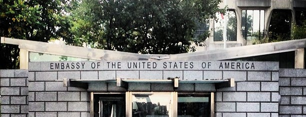 Embassy of the United States of America is one of United Kingdom, UK.