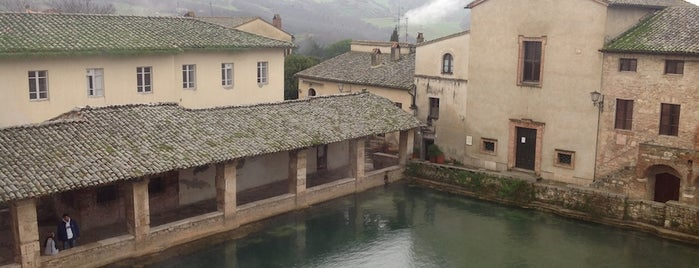 Bagno Vignoni is one of Italy.