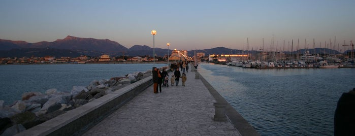 Pontile viareggio is one of Seaside wi-fi in Tuscany.