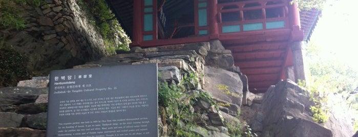한벽당 is one of 전주여행.