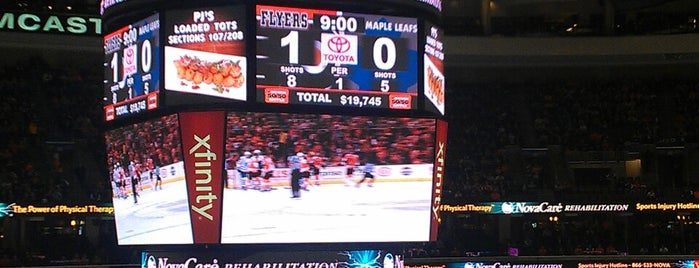 Wells Fargo Center is one of NHL~2014 Venues....
