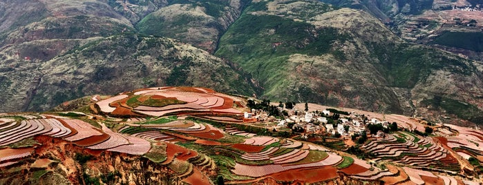 Dongchuan Red Land is one of Posti che sono piaciuti a JulienF.