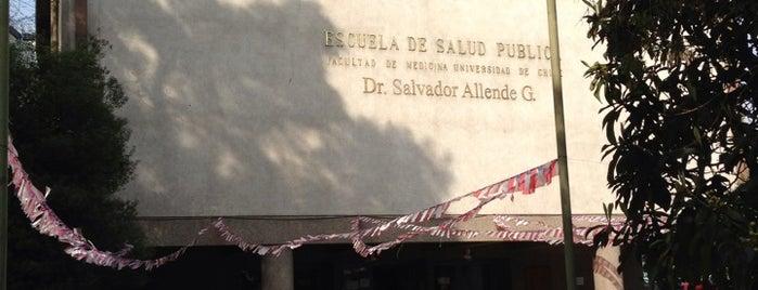 Escuela de Salud Pública is one of SCL.