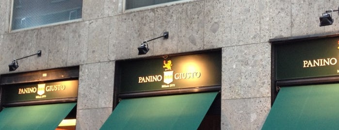 Panino Giusto is one of American Express Venue List - 2.