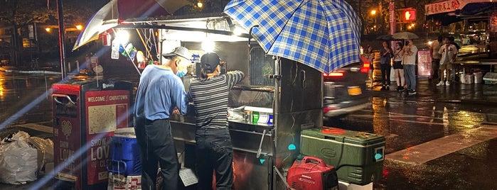Young Xinjiang BBQ Cart is one of Lamb.